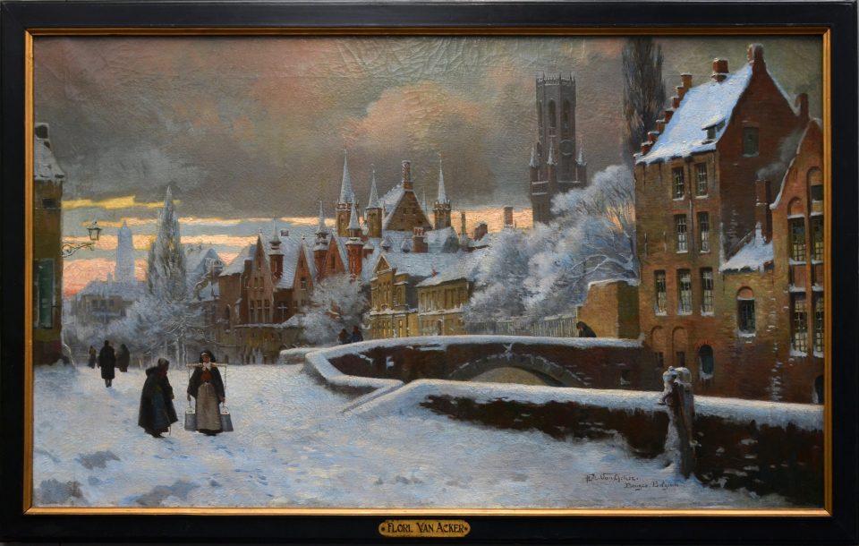 13_The Meeburg in Bruges by Flori_Van_Acker_Meebrug
