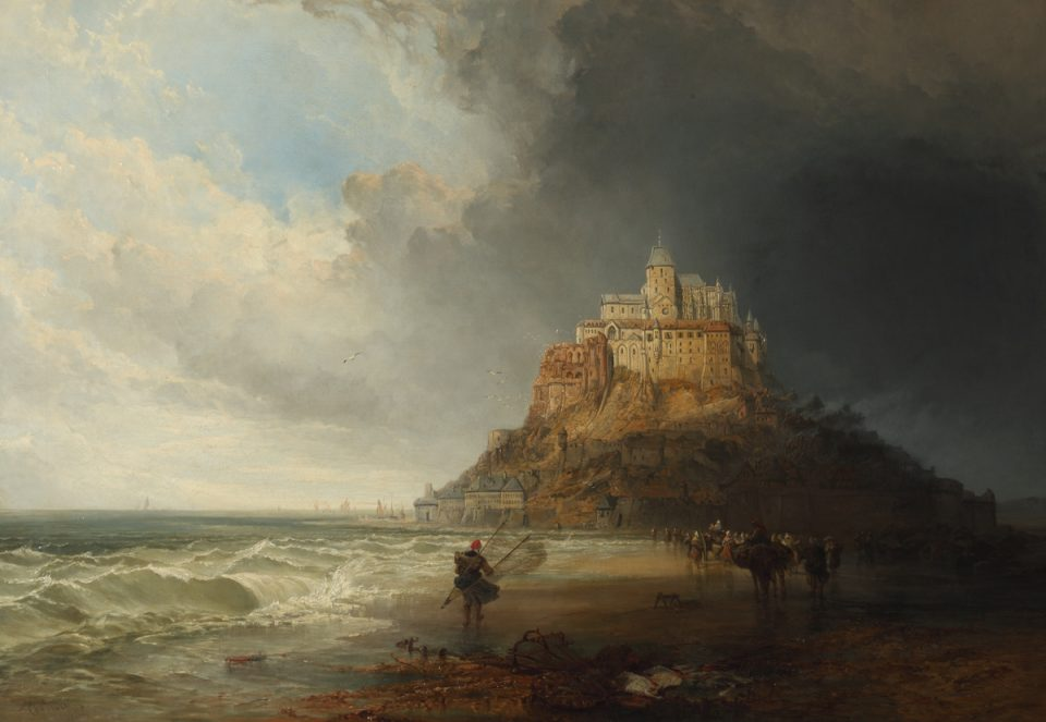 3_Mont St Michel by Charles Bentley