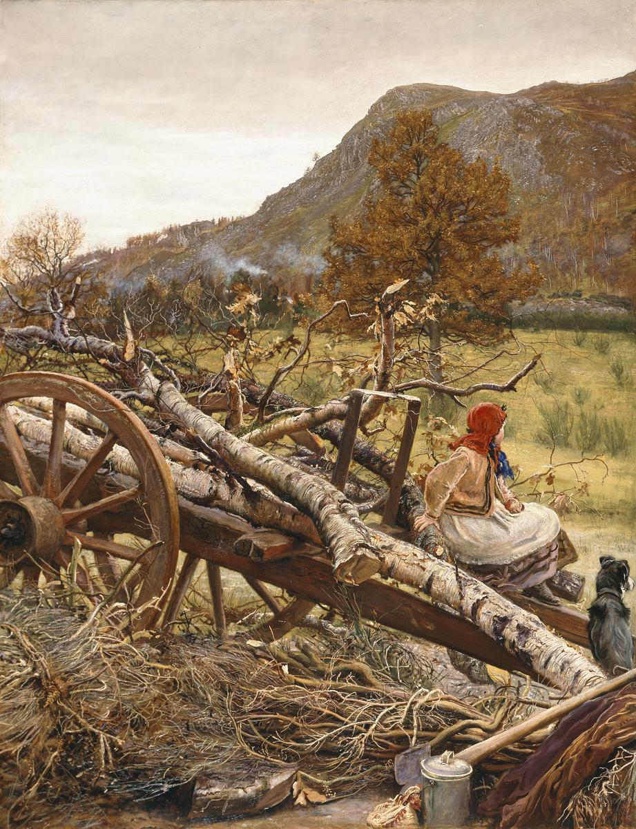 4_Winter Fuel by John Everett Millais
